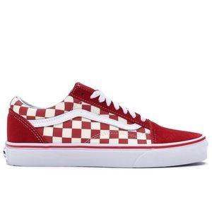 Vans Old Skool Primary Check Checkerboard Sneakers